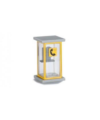 HERPA 053440 – CABINA TELEFONICA IN KIT (2 pz)- 1:87