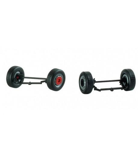 HERPA 052559 – Kit ruote sterzanti per camion 2007 (4 pz) – 1:87
