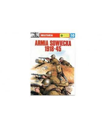 Monografia MILITARIA n. 10 – ARMATA SOVIETICA 1914-1950 IN POLACCO