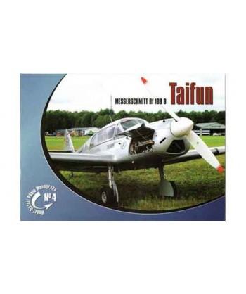 Monografia MESSERSCHMITT Bf 108 B TAIFUN in Polacco