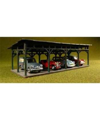 PROSES LS-006 – Kit posteggio auto con tettoia – H0-00