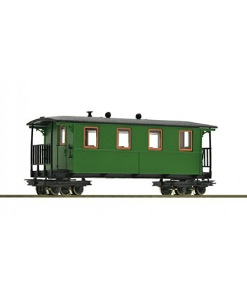 ROCO H0e 34063 – Carrozza Passeggeri 2^ CL. – Waldbahn Ep. III-IV
