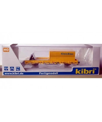 KIBRI H0 26264 – Pianale con accessori e container – DB