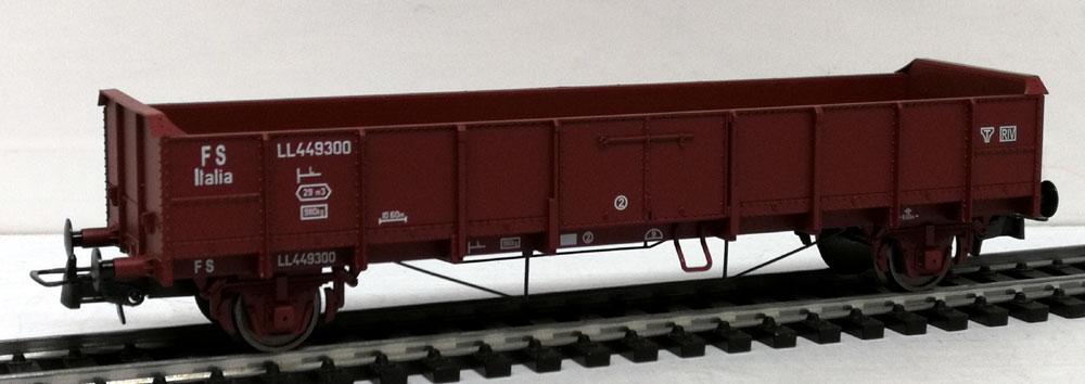 Atm treni h0 12006 carro aperto tipo ll passo lungo for Valutazione ottone usato