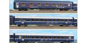 "ACME H0 55225 – Set Complementare Euro Night ""ROMA"" Svizzera/Italia Ep. V"