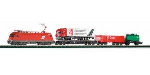 PIKO H0 57170 – Start Set treno merci OBB con locomotiva Taurus