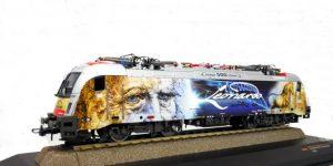 """ROCO H0 73484 – Locomotiva elettrica Gruppo 1216 """"Leonardo da Vinci"""" – OBB Ep. VI"""