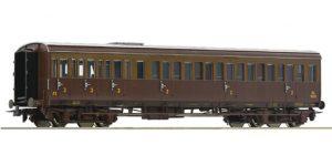 ROCO H0 74685 – Carrozza mista passeggeri di 2a/3a cl. Centoporte FS Ep. III