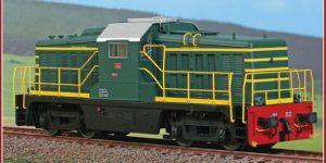 ACME H0 60253 – Locomotiva Diesel Elettrica D.143.3022 – FS Ep. IVb/V