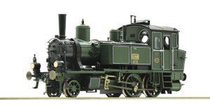 ROCO H0 73052 – Locomotiva a vapore Gr. Pt 2/3 – K.Bay.Sts.B. Ep. I