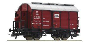 ROCO H0 76304 – Carro Tipo Mv per trasporto vino – FS Ep. III