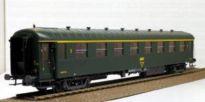 MODELS-WORLD H0 40389 – OCEM A8c8 (ex Transatlantique) Carrozza Cuccette 1^ Cl. – SNCF Ep. IVa