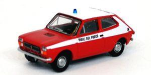 """PIRATA PIBK 22508 – FIAT 127 """"Vigili del Fuoco"""" – 1:87"""