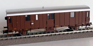 ATM TRENI H0 CF 05.002 – Carro tipo UM.24 Postale/Messaggeri – FS Ep III
