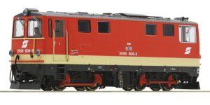 ROCO H0e 33299 – Locomotiva diesel 2095 006-9 – OBB Ep. IV-V *DCC SOUND*