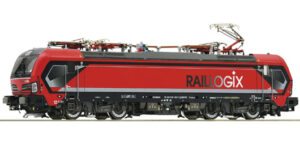 "ROCO H0 73936 – Locomotiva Vectron 193 627-7 ""RAILLOGIX"" **DCC SOUND** New 2021"
