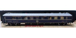 "LS MODELS H0 49198 – Vagone Ristorante WR Breda blu, livrea 1971 ""CIWL"" – FS Ep IV"