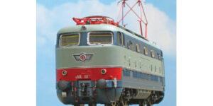 ACME H0 60304 – Locomotiva E.444.114 2a serie, con baffo rosso e modanature – FS Ep IV