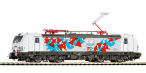 """PIKO H0 59598 – Locomotiva elettrica Vectron BR 191.001 """"InRail 10° Anniversario"""" Ep. VI"""