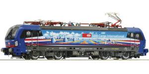 ROCO H0 71949 – Locomotiva elettrica Vectron 193 525-3, SBB Cargo International Ep. VI DCC SOUND